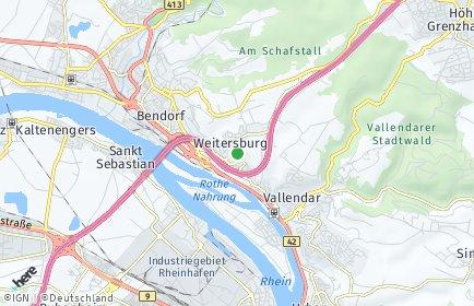 Stadtplan Weitersburg