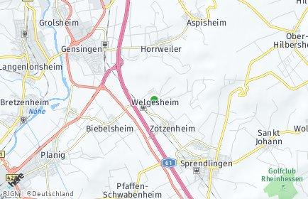 Stadtplan Welgesheim