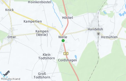 Stadtplan Welle
