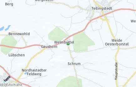 Stadtplan Welmbüttel