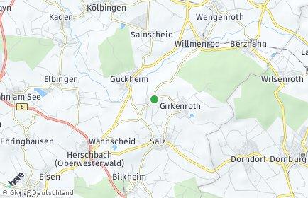 Stadtplan Weltersburg
