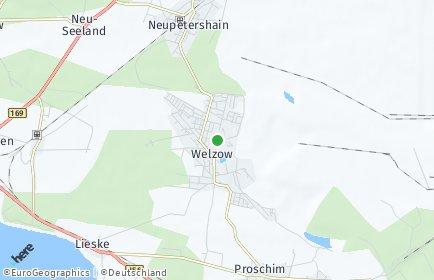 Stadtplan Welzow
