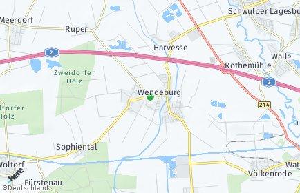 Stadtplan Wendeburg