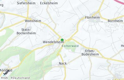 Stadtplan Wendelsheim