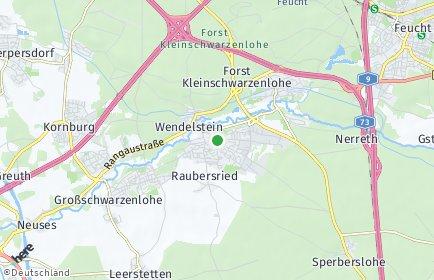 Stadtplan Wendelstein