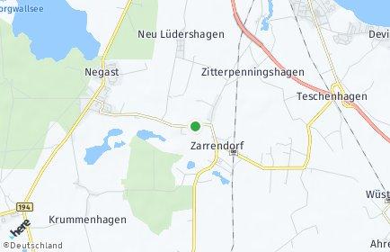 Stadtplan Wendorf bei Stralsund