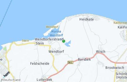 Stadtplan Wendtorf