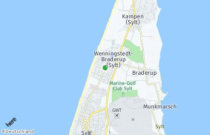 Stadtplan Wenningstedt-Braderup (Sylt)