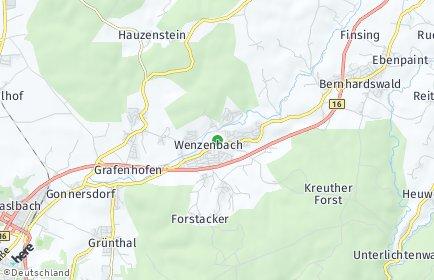 Stadtplan Wenzenbach