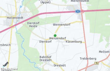 Stadtplan Wenzendorf