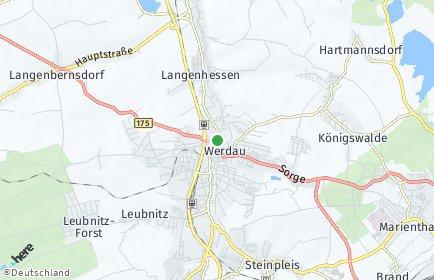 Stadtplan Werdau