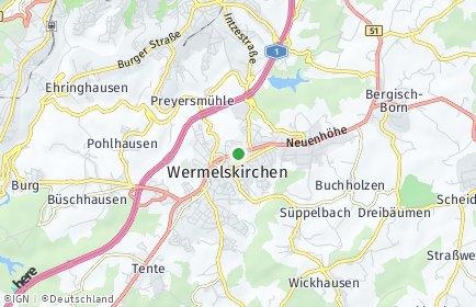 Stadtplan Wermelskirchen