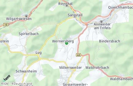 Stadtplan Wernersberg