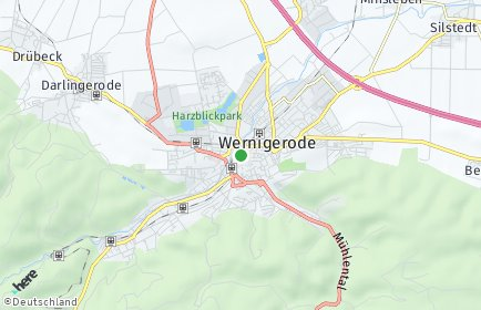 Stadtplan Wernigerode