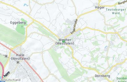 Stadtplan Werther (Westfalen)