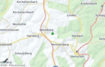 Stadtplan Weselberg