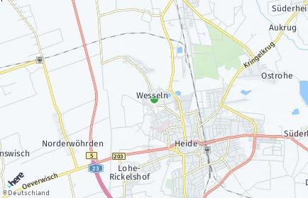 Stadtplan Wesseln