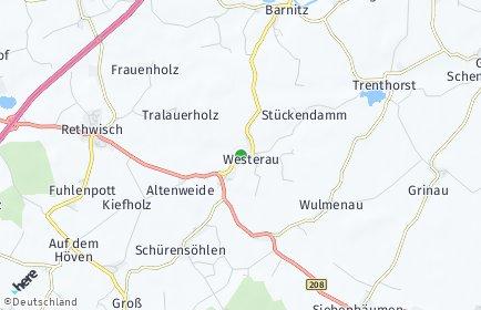 Stadtplan Westerau