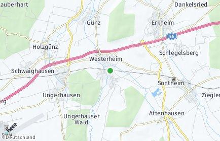 Stadtplan Westerheim (Unterallgäu)