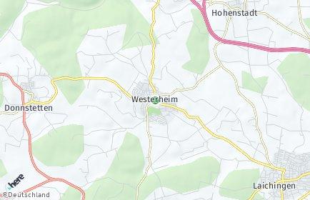 Stadtplan Westerheim (Württemberg)