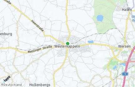 Stadtplan Westerkappeln