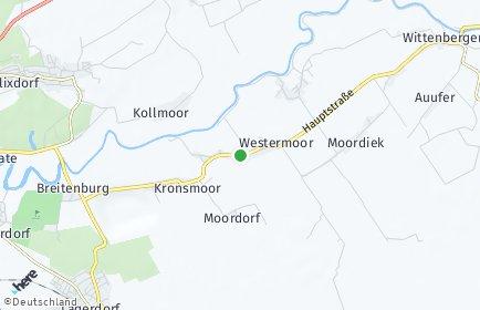 Stadtplan Westermoor