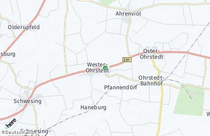 Stadtplan Wester-Ohrstedt