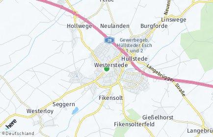 Stadtplan Westerstede