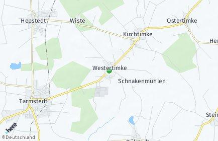 Stadtplan Westertimke
