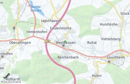 Stadtplan Westhausen (Württemberg)