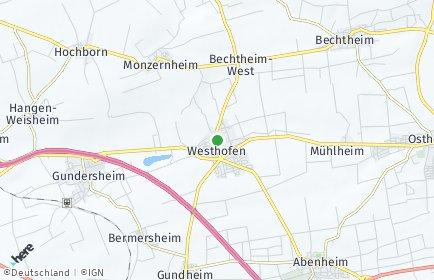 Stadtplan Westhofen