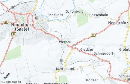Stadtplan Wethau