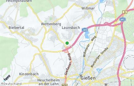 Stadtplan Wettenberg