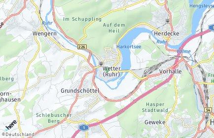 Stadtplan Wetter (Ruhr)