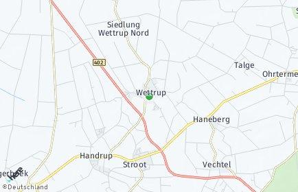 Stadtplan Wettrup