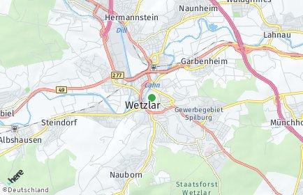 Stadtplan Wetzlar