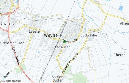Stadtplan Weyhe