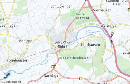 Stadtplan Wickede (Ruhr)