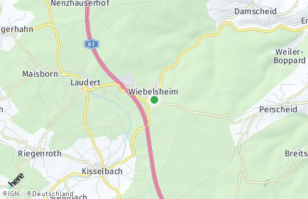 Stadtplan Wiebelsheim