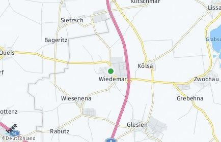 Stadtplan Wiedemar