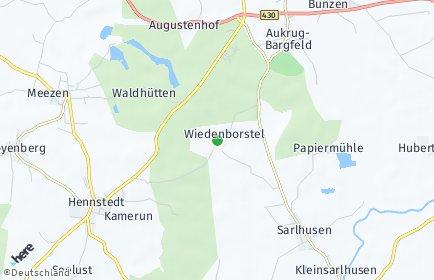 Stadtplan Wiedenborstel
