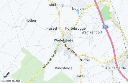 Stadtplan Wiefelstede