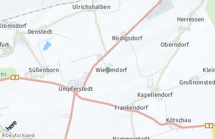 Stadtplan Wiegendorf