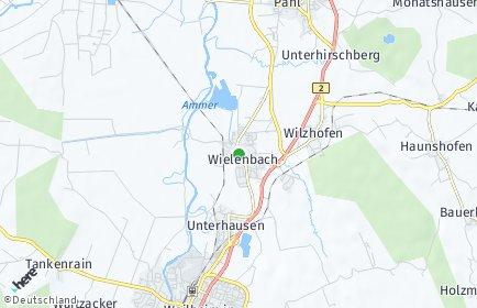 Stadtplan Wielenbach