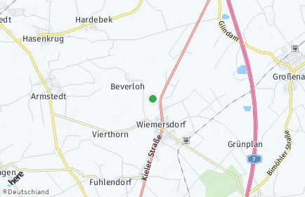 Stadtplan Wiemersdorf