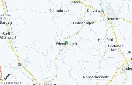 Stadtplan Wiemerstedt