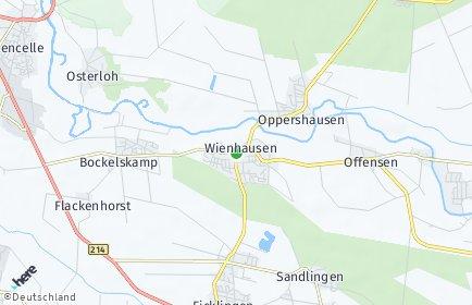 Stadtplan Wienhausen