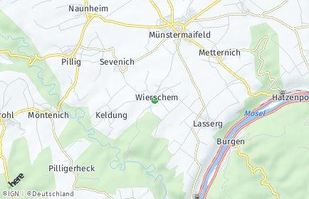 Stadtplan Wierschem