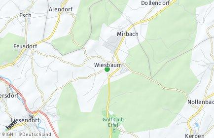 Stadtplan Wiesbaum