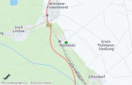 Stadtplan Wiesenau